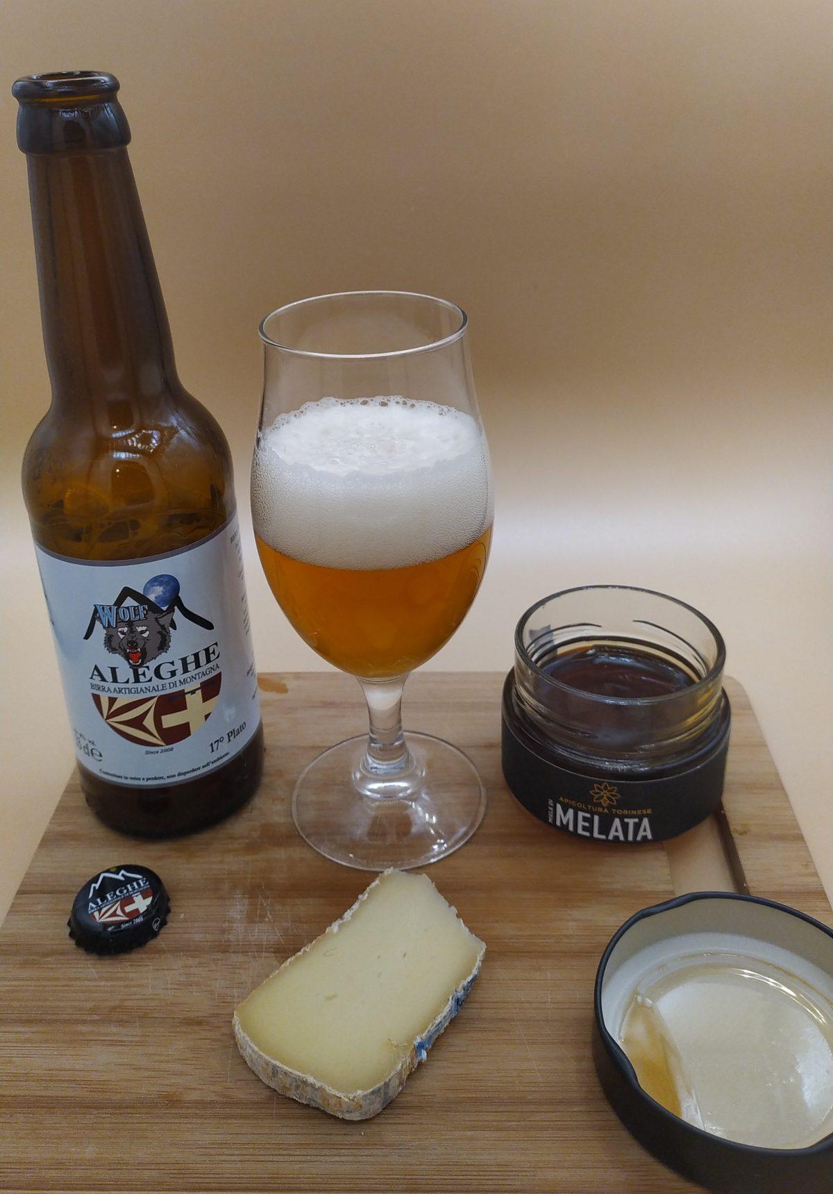 Aleghe Birra Wolf - Maccagno - Mielata