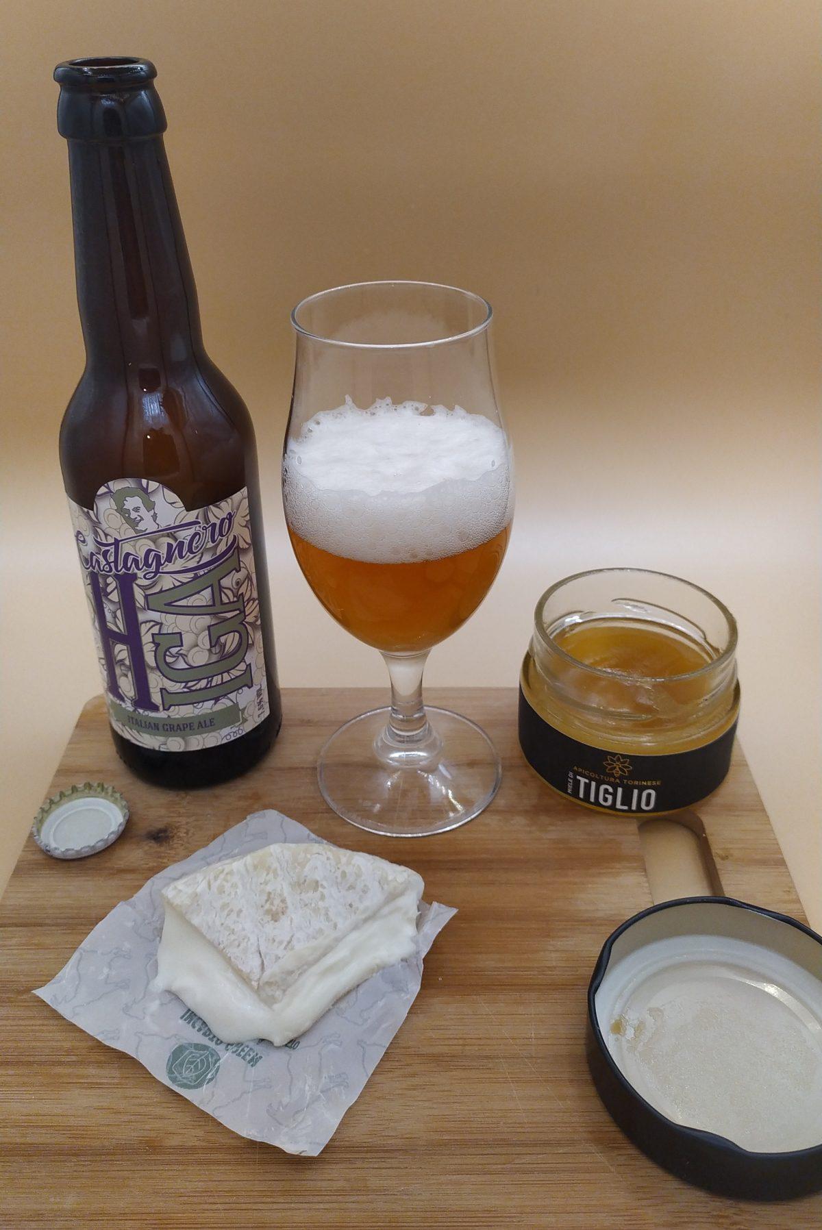 Castagnero Birra HIGA - Caprino - Miele di Tiglio