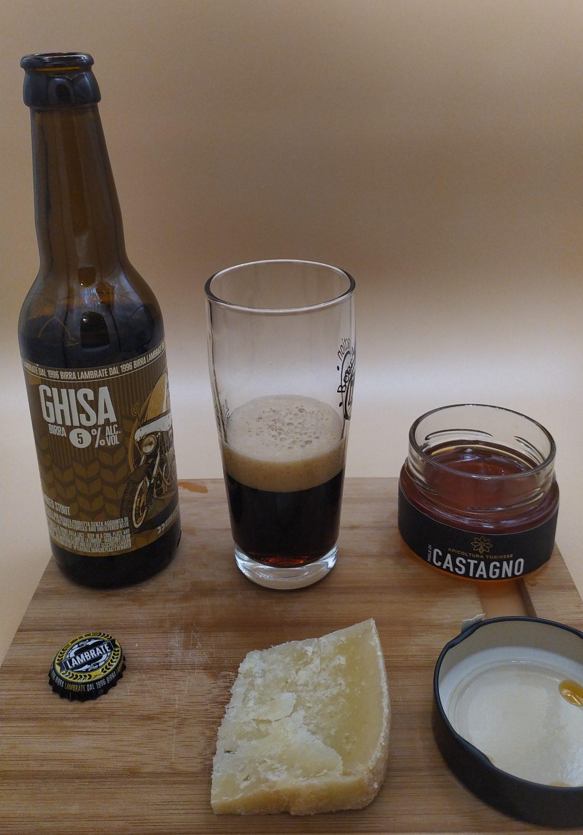 Lambrate Birra Ghisa - Miele di Castagno - Pecorino Siciliano