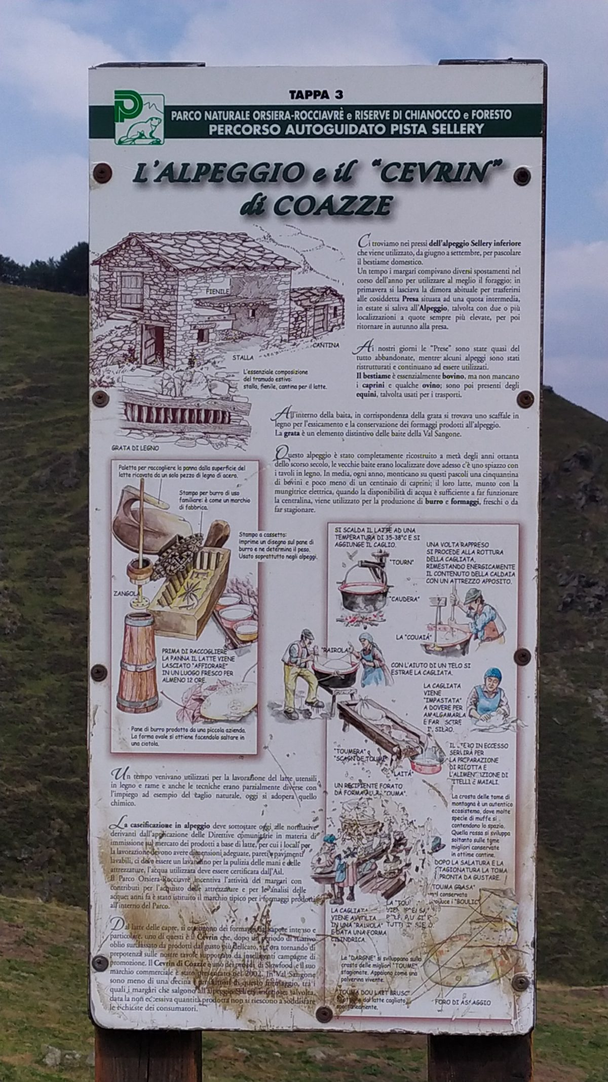 Rifugio Fontana Mura - Alpeggio